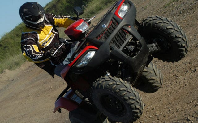 2008 Suzuki KingQuad 750axi Review | ATV Trail Rider Magazine