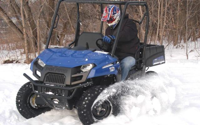 2010 Polaris Ranger EV Review