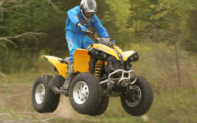 2008 can am renegade 500 review atv trail rider magazine. Black Bedroom Furniture Sets. Home Design Ideas