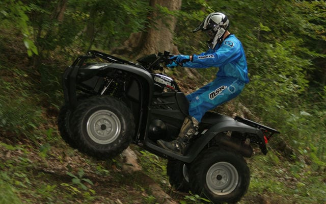 2008 kymco mxu 500 review atv trail rider magazine. Black Bedroom Furniture Sets. Home Design Ideas