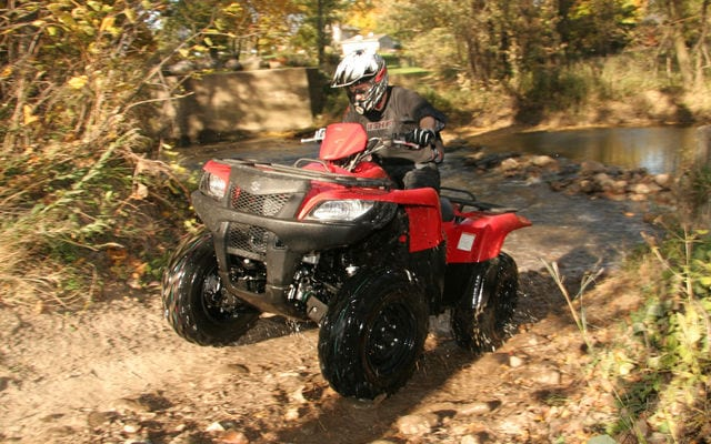 2008 Suzuki King Quad 450 Review   ATV Trail Rider Magazine