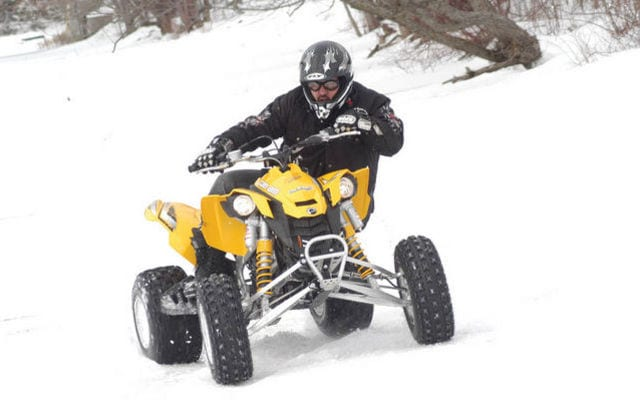 2008 Can-Am DS450 Review | ATV Trail Rider Magazine