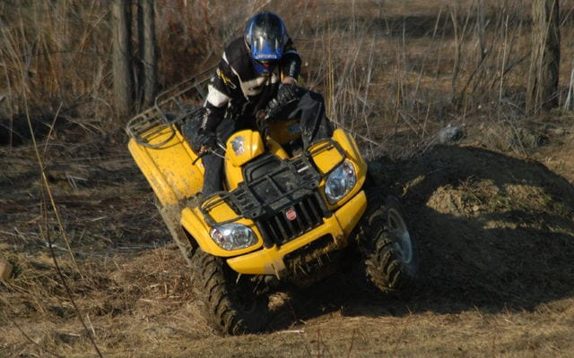 2008 CFMOTO Moose Tracker 500A Review | ATV Trail Rider Magazine