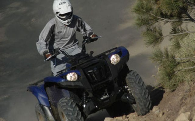 2009 Yamaha Grizzly 550 FI Review