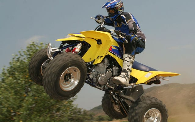 2009 Suzuki LTZ 400 Review | ATV Trail Rider Magazine
