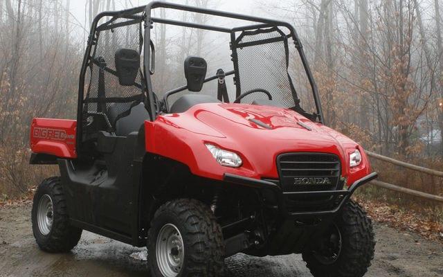 2009 Honda Big Red First Look