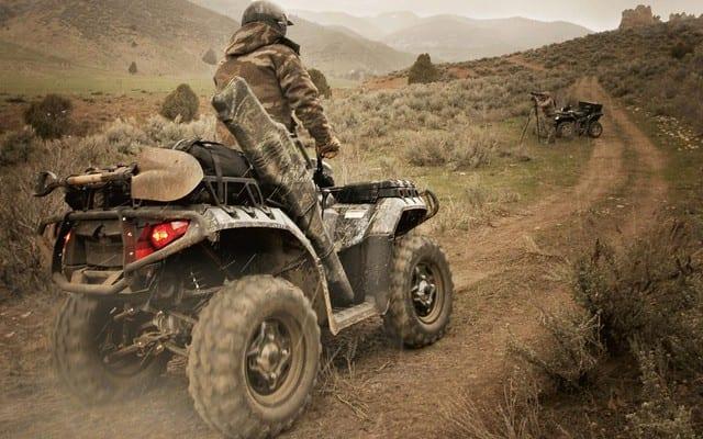 Atv Four Wheelers >> Hunting With An ATV | ATV Trail Rider Magazine