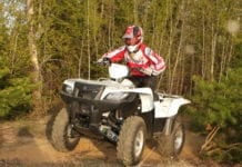 2009 Suzuki KingQuad 500 AXI Review