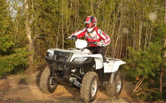 2009 Suzuki KingQuad 500 AXI Review   ATV Trail Rider Magazine