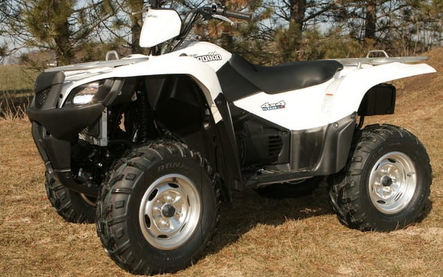 2009 Suzuki KingQuad 500 AXI Review | ATV Trail Rider Magazine