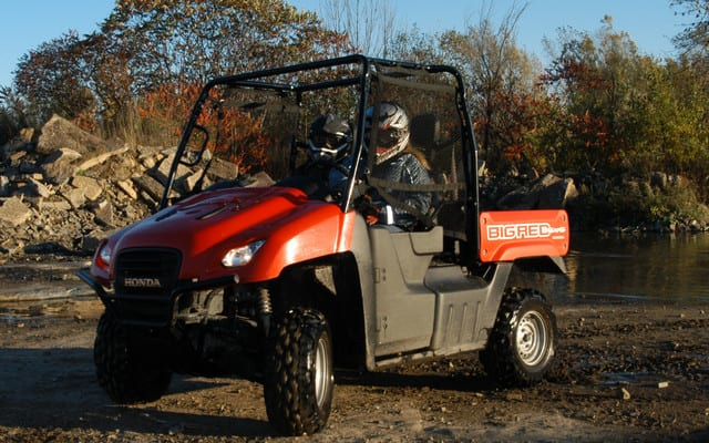 2009 Honda Big Red Review