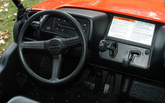 2009 Honda Big Red Review