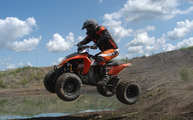 2009 ktm 525 xc review atv trail rider magazine. Black Bedroom Furniture Sets. Home Design Ideas