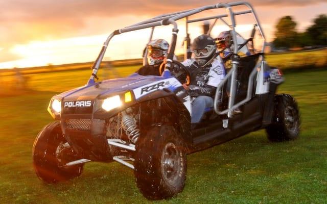 2010 Polaris Ranger RZR 4 Robby Gordon Edition Review