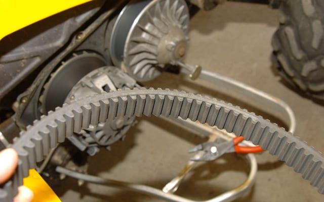ATV Clutch Components And The CVT   ATV Trail Rider Magazine