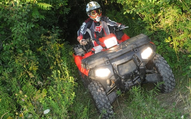 2011 Polaris Sportsman X2 550 Review   ATV Trail Rider Magazine