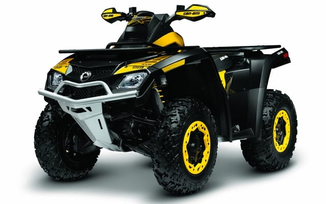 First Ride - Can-Am Outlander and Renegade 1000   ATV ...