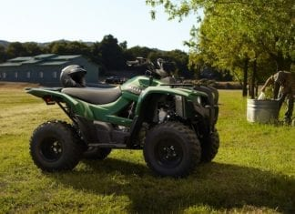 2012 Yamaha Grizzly 300 Introduced