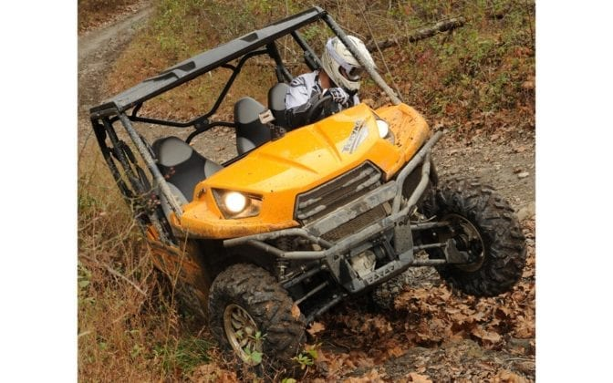 2012 Kawasaki Teryx4 750 4x4 Review