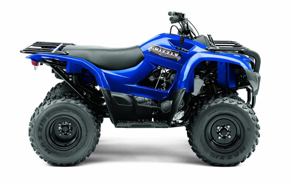 2012 yamaha grizzly 300 review atv trail rider magazine. Black Bedroom Furniture Sets. Home Design Ideas