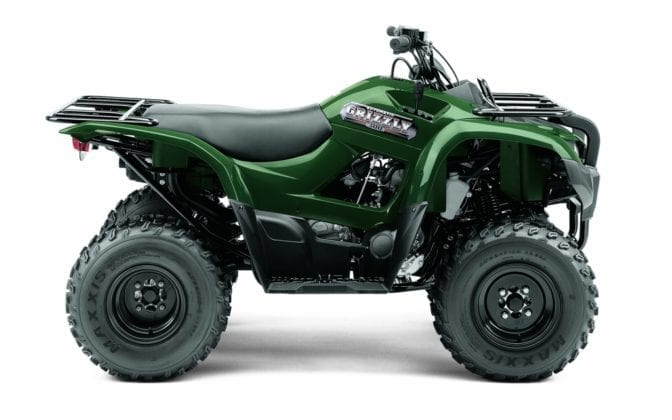 2012 Yamaha Grizzly 300 Review