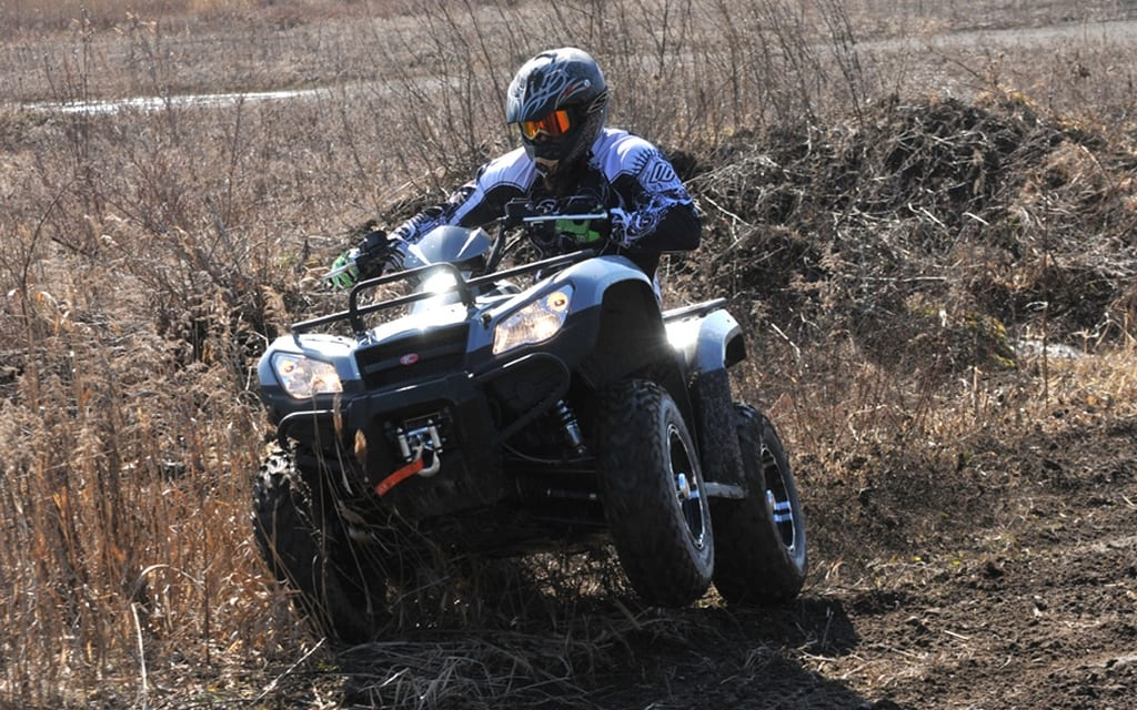 2012 kymco mxu 450i review atv trail rider magazine. Black Bedroom Furniture Sets. Home Design Ideas