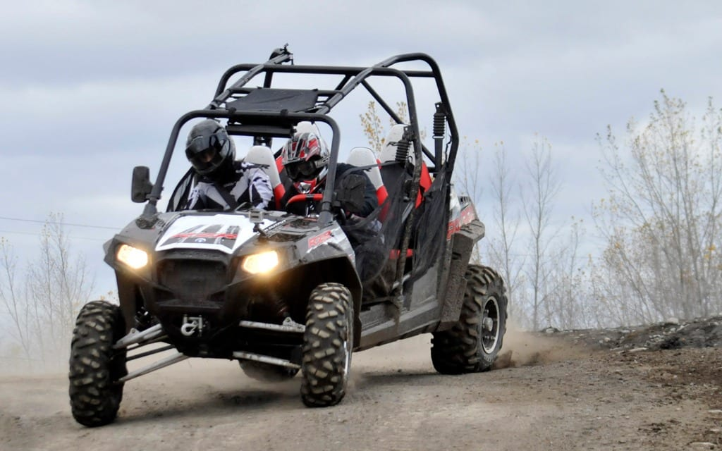 Elka Stage 4 Shocks Review   ATV Trail Rider Magazine