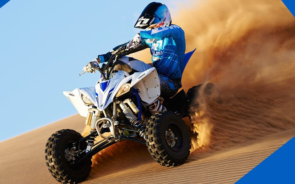 yamaha yfz  introduced atv trail rider magazine