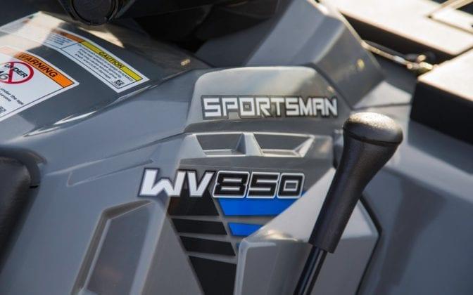 2014 Polaris Sportsman WV850 H.O. Introduced