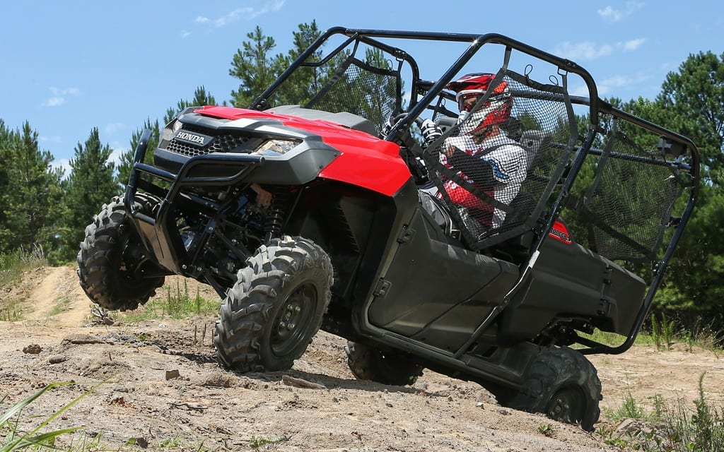 2014 Honda Pioneer 4 700 Review Atv Trail Rider Magazine