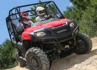2014 Honda Pioneer-4 700 Review
