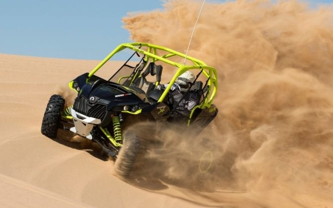2015 Can-Am Maverick X DS Turbo Review