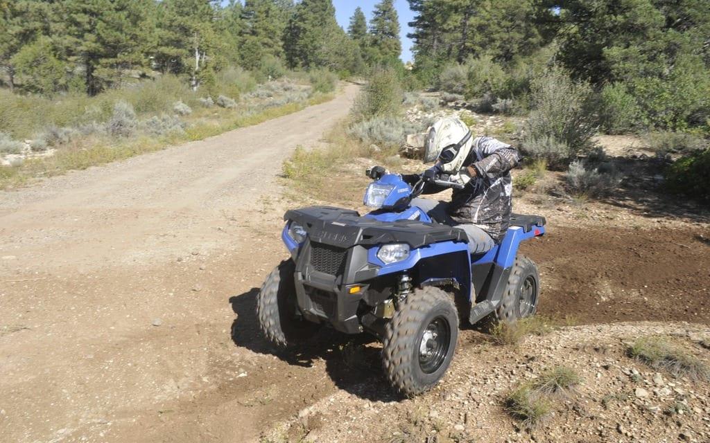 2015 Polaris Sportsman ETX Review   ATV Trail Rider Magazine