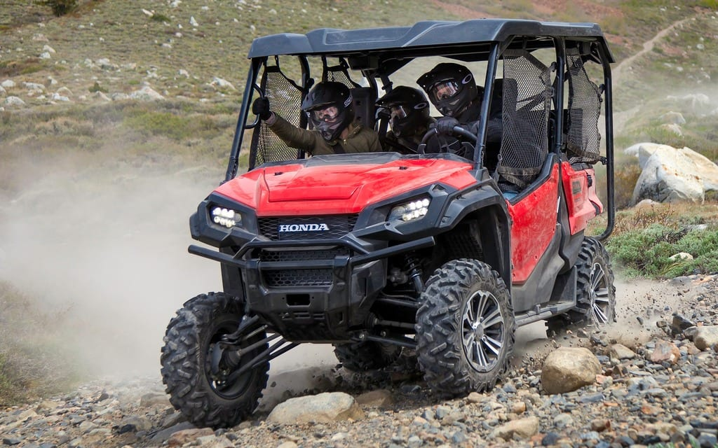 2016 honda pioneer 1000 5 preview atv trail rider magazine. Black Bedroom Furniture Sets. Home Design Ideas
