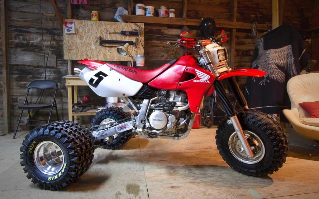 Convert a ATC 110 three wheeler to 4 wheeler? - Honda ATV Forum