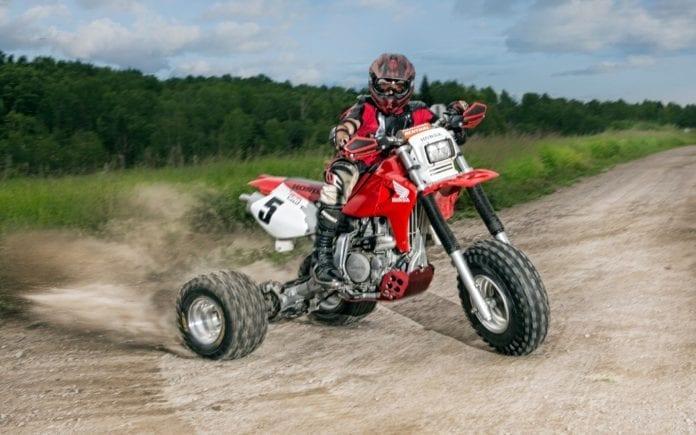 Honda XR 650R 3-Wheeler Conversion   ATV Trail Rider Magazine