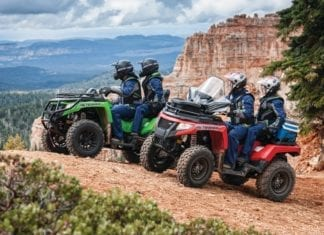 2017 Arctic Cat Off-Road ATV Lineup First look