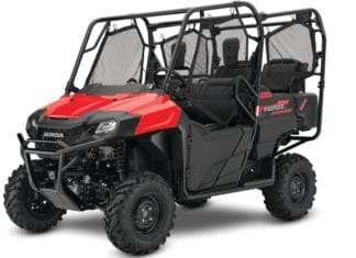 2017 Honda Pioneer Lineup Improvements