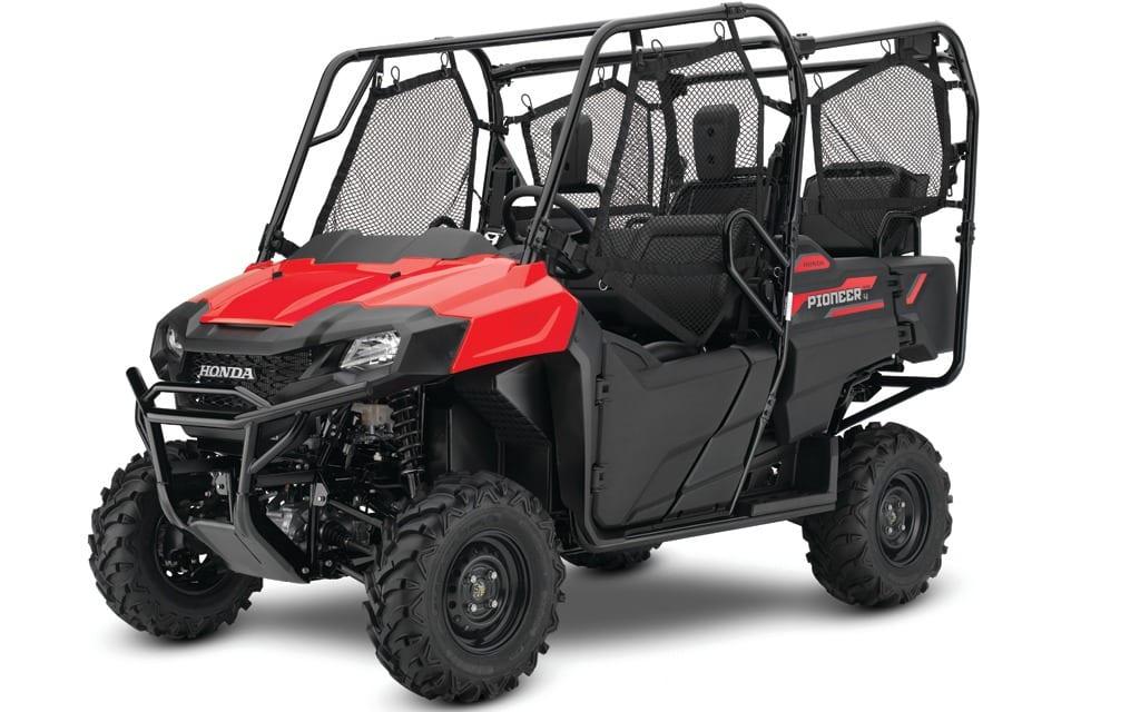 2017 Honda Lineup >> 2017 Honda Pioneer Lineup Improvements Atv Trail Rider