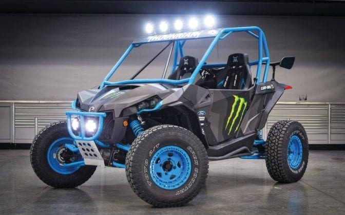 Ken Block Showcases Custom Can-Am Maverick X rs 1000R Turbo