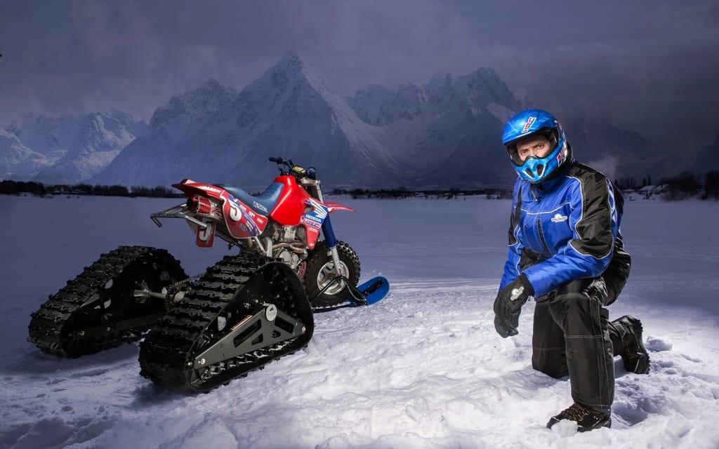 Akoona Sport Tracks Prototype Atv Trail Rider Magazine