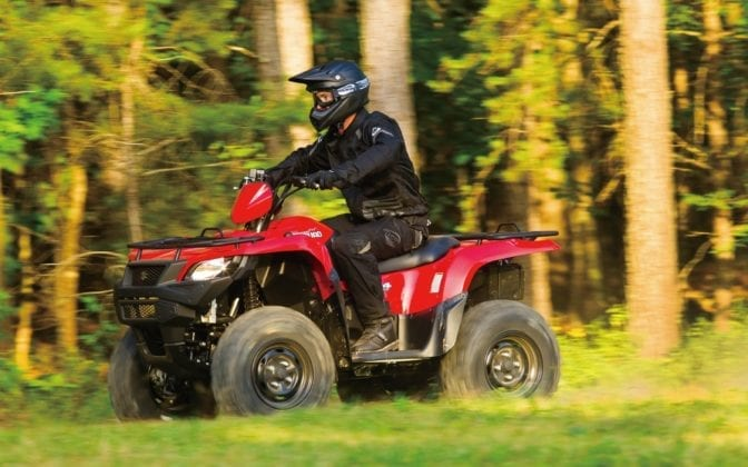 2016 Suzuki kind Quad 750 AXI SE Review