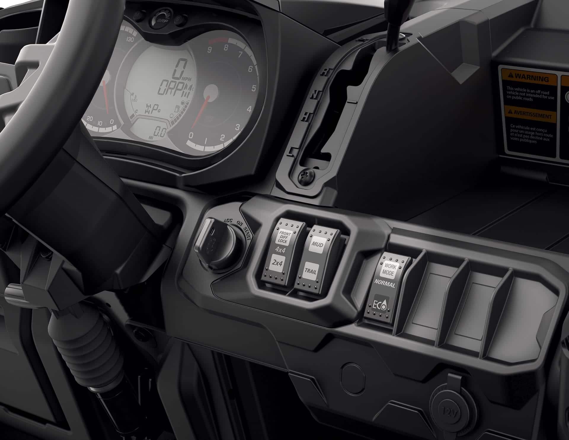 2018 Can Am Defender X Mr Lineup Atv Trail Rider Magazine Rally Fuse Box