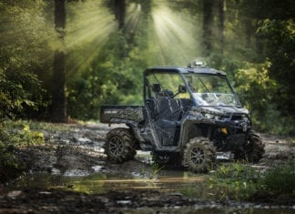 2018 Can-Am Defender X MR Lineup