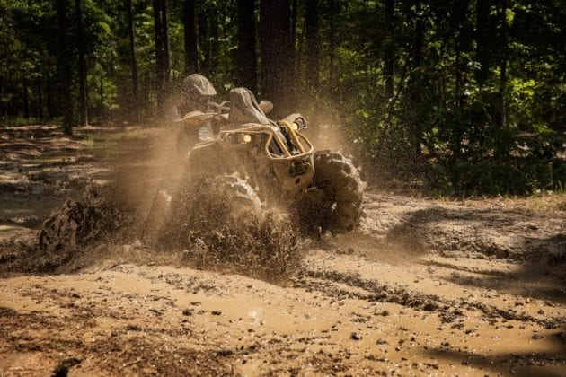 2018 Can-Am Renegade ATV Lineup