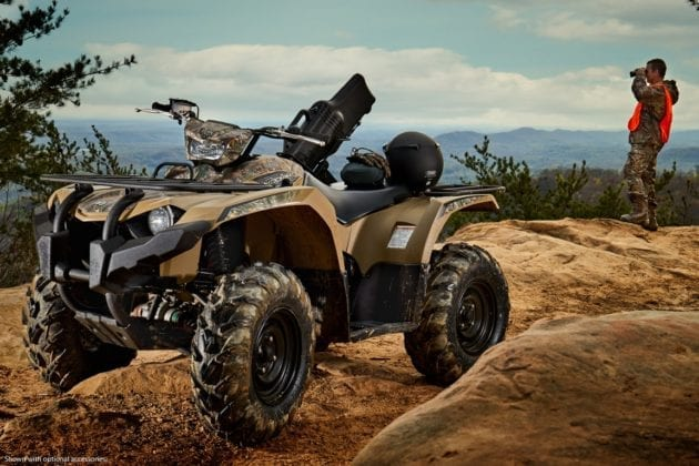 2018 Yamaha Kodiak 450 First Look