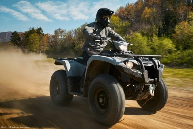 2018 Yamaha Kodiak 450 First Look