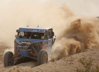 Can-Am Maverick X3 racer Phil Blurton captures best in the desert UTV Production Turbo class Championship.