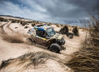 South Racing Can-Am Maverick Team Wins Dakar