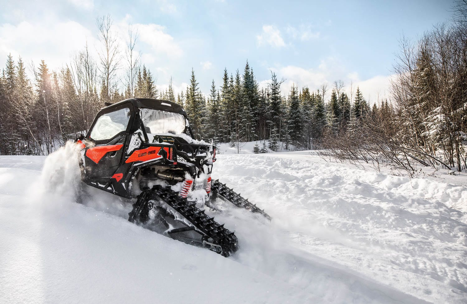 Apache Backcountry Track Kit From Can Am Atv Trail Rider